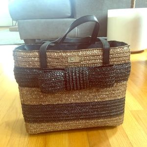 Kate spade tote with large bow